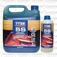 Титан Профессионал Tytan 5S - Антисептик для строительной древесины (концентрат 1:9), 1кг.