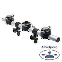 Тарга FASTen Borika Gr500-3 500 мм с тремя замками, цвет - черный, фото 1