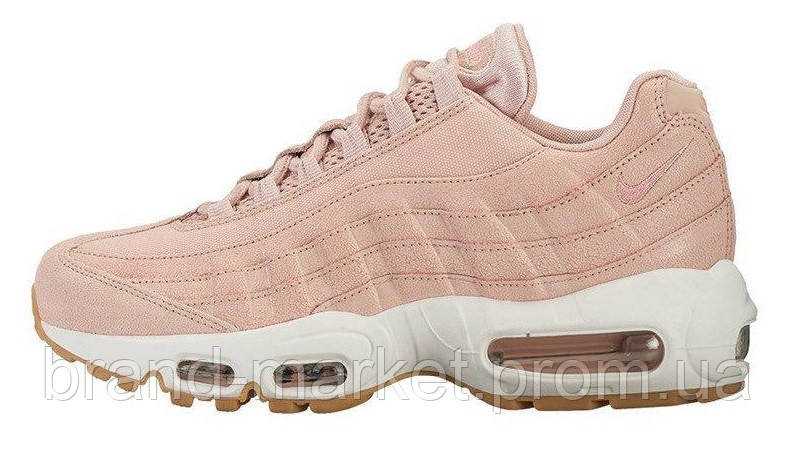 155fe3e06c1a Женские кроссовки Nike Air Max 95 Premium Pink Oxford Bright - Brand House  в Киеве