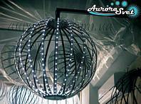 Светодиодная сфера/полусфера AS-3, 550мм, 20 лучей, 24пикс/луч