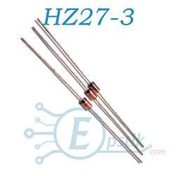 Стабилитрон HZ27-3 DO-35