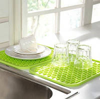 Коврик силиконовый для сушки посуды 21Х15 см