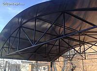 Металлоконструкции любой сложности, козырьки, навесы, ворота, заборы, металоконструкции Харьков, производство