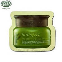 Пробник крема вокруг глаз с маслом семян зеленого чая Innisfree The Green Tea Seed Eye Cream