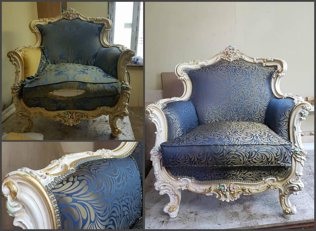 Кресла и стулья - перетяжка и ремонт