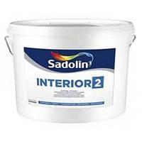 Садолин Sadolin Interior-2 - Краска для стен и потолков, 3л.