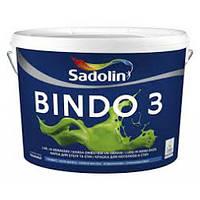 Садолин Sadolin Bindo 3 - Краска для стен и потолков, 2,5л.