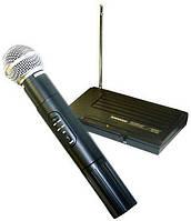 Популярная радиосистема shure sh-200, чистое звучание, большой частотный диапазон, микрофон + приемник, фото 1