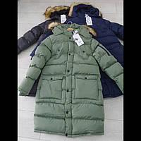 Подростковое зимнее пальто для мальчиков оптом GRACE. ВЕНГРИЯ