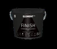 Элемент ELEMENT PRO FINISH - Готовая акриловая шпаклевка, 8кг.