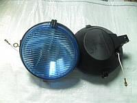 Фара противотуманная ФПГ-113 (голубое стекло пластмассовый корпус)
