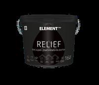 Элемент ELEMENT PRO RELIEF - Фасадная водно-дисперсионная акриловая краска, 3,5кг.