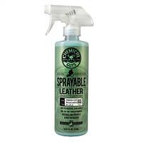 Очиститель и кондиционер для кожи с витамином Е и алоэ, с нейтральным рН Sprayable Leather Cleaner & Condition