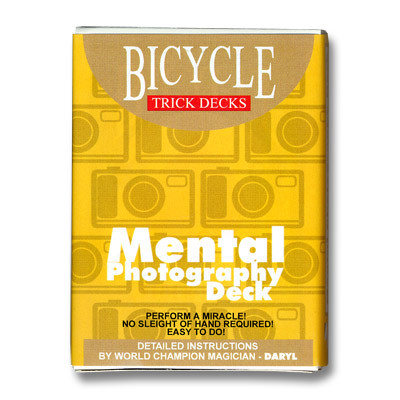 Трюковая колода   Bicycle Mental Photography Deck