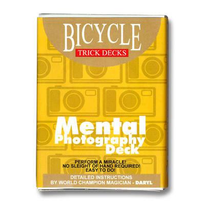Трюковая колода   Bicycle Mental Photography Deck, фото 2