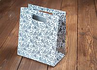Пакет для каравая с серебряными листочками (арт. C-0043)