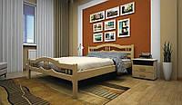 Кровать дерево ЮЛІЯ 1