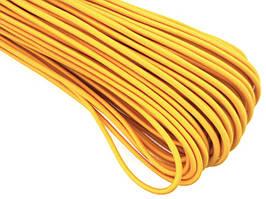 Резинка шляпная 2,5мм цв желтый (уп 100м) Ф
