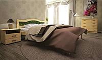 Кровать из дерева ЮЛІЯ 2
