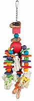 Игрушка Trixie Wooden Toy для птиц деревянная, 35 см