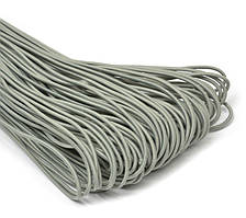 Резинка шляпная 2,5мм цв серый (уп 100м) 013 Ф
