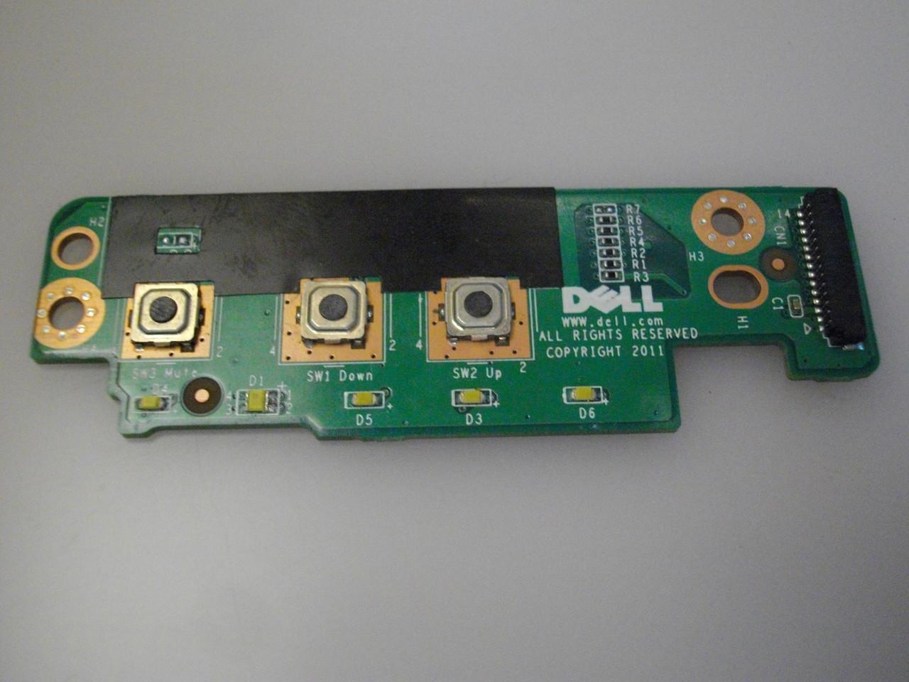 Плата с кнопками и индикацией DELL M6600