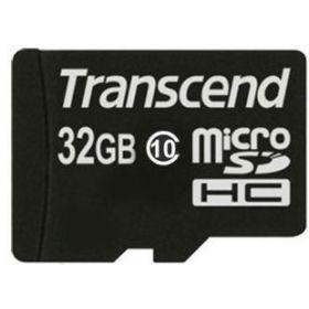 Карта памяти TRANSCEND microSDHC 32 GB Class 10 без адаптера