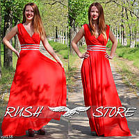 Шифоновое платье в греческом стиле