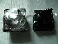 Фара передняя квадратная ФГ-308 в пластмассовом корпусе