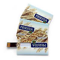 Арт. PLASTIC CREDIT CARD USB-Флешка на 8Gb, фото 1