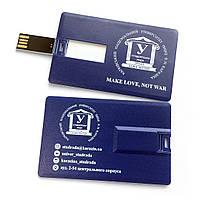 Арт. PLASTIC CREDIT CARD USB-Флешка на 16Gb, фото 1