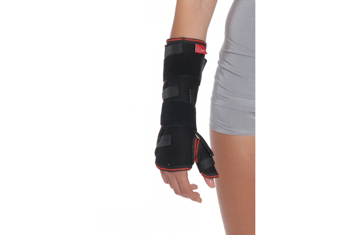 Бандаж на променевозап'ястний суглоб з ребром жорсткості (з фіксацією пальця) R8304