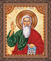 Набор для вышивки бисером на натуральном художественном холсте Святой Андрей