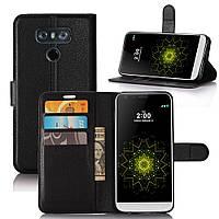 Чехол LG G6 / H870 / LS993 книжка PU-Кожа черный