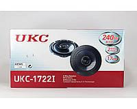 Автоколонки Pioneer UKC TS-1722, автомобильные акустические колонки, колонки Pioneer в автомобиль 17 см