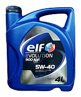 Масло моторное ELF Evolution 900 NF 5W-40, 4л