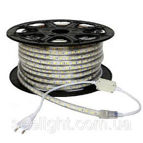 Светодиодная лента 220 Вольт, 5050 60 led/метр. Белый , фото 2