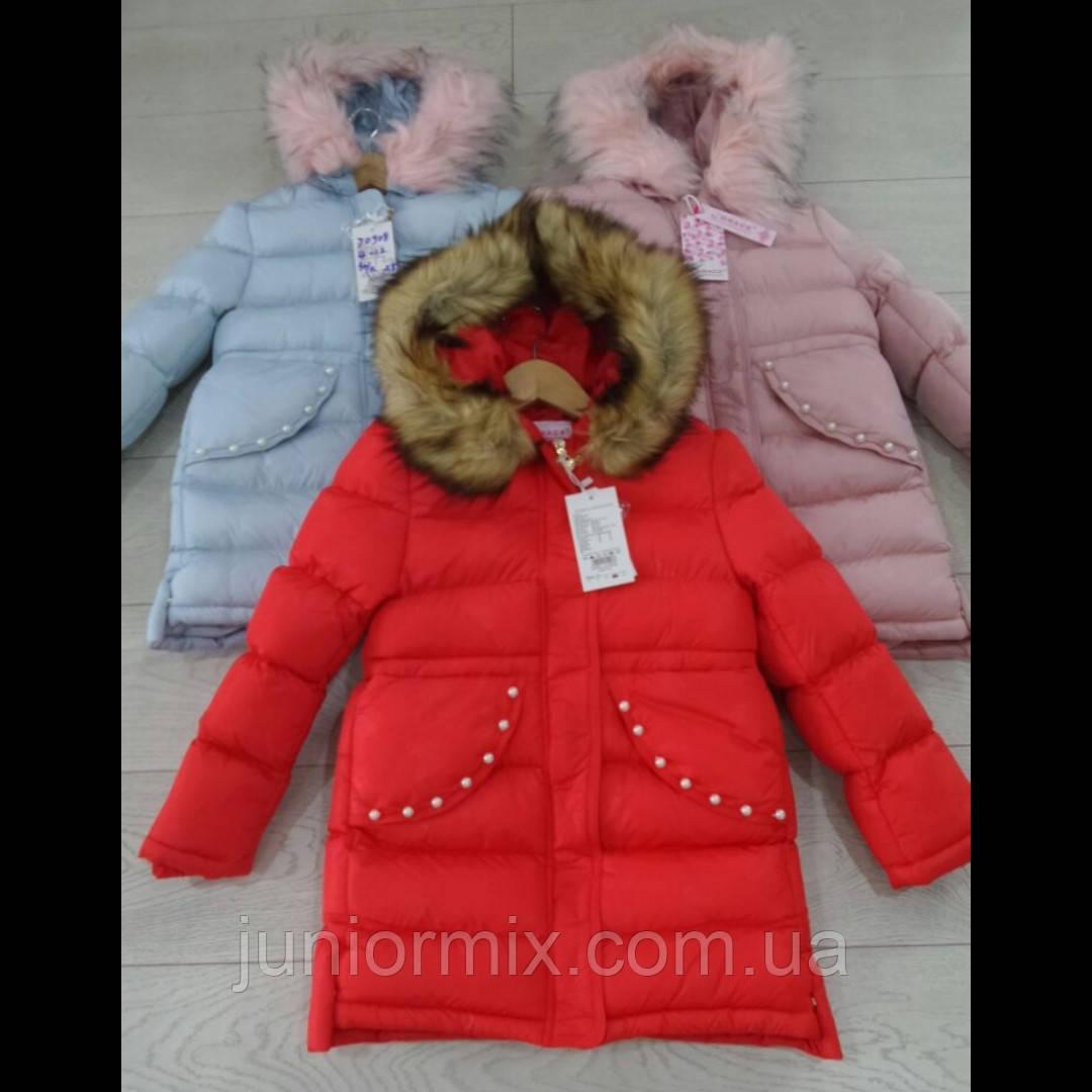 Детские зимние куртки для девочек оптом.GRACE.  ВЕНГРИЯ