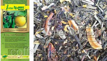 """Чай зеленый ароматизированный  """"Лимон базилик"""" 1кг"""