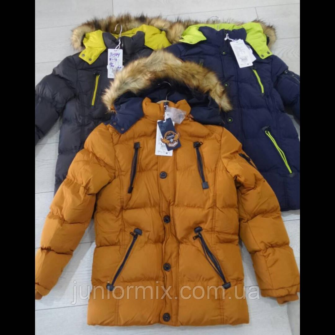 Подростковая зимняя куртка для мальчика оптом GRACE. ВЕНГРИЯ