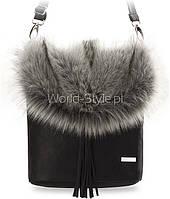 08-02 Черная женская сумочка Admiranda