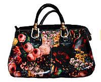 Сумка лакована PU шкіра Floral fashion
