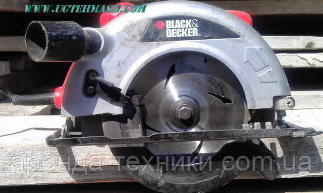паркетная дисковая пила black&decker