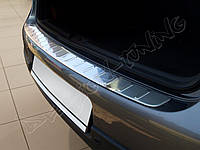 Накладка на задний бампер VW Golf 5