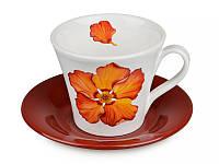 Подарочная чашка с блюдцем от Nuova Cer 612-009