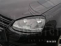 Реснички Гольф 5, Джетта. накладки фар VW Golf 5/Jetta
