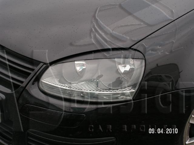 """Реснички Гольф 5, Джетта. накладки фар VW Golf 5/Jetta - Тюнинг магазин """"cartuning"""", тел. +38 (097) 675 08 04 в Кировоградской области"""