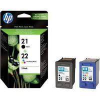 Комплект картриджей HP №21/22 DJ 3920/PSC1410 (SD367AE) MultiPack (C/M/Y/Bk)