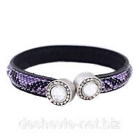 Пурпурный недорогой браслет женский 10brpurple мода 2015