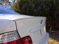 Лип спойлер , сабля, накладка на багажник на БМВ Е46 седан, BMW E46 sedan